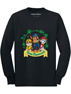 Tstars Patricks Day Paw Patrol Gift Official Toddler Hoodie Team Shamrock St