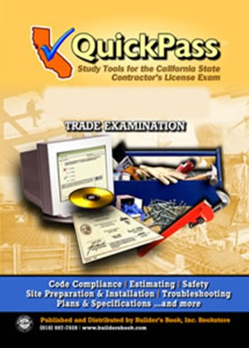 General B Building (B) License Examination QuickPass Study Guide - CD-ROM