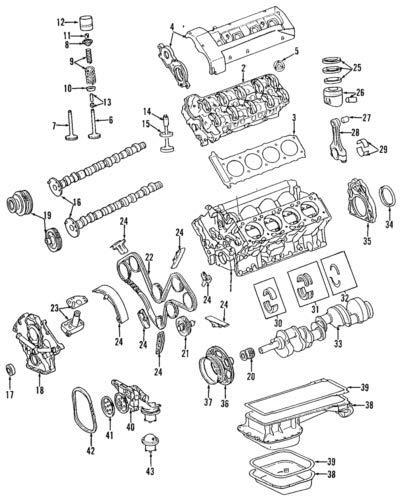 Genuine Mercedes-Benz Oil Pan Gasket 119-014-06-22