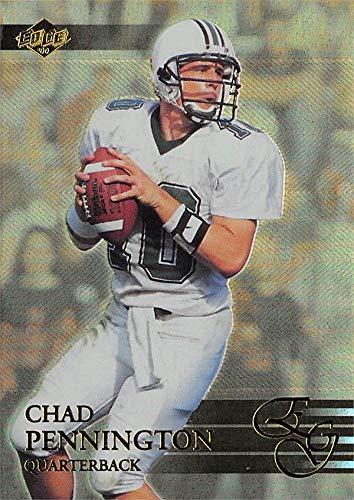 Chad Pennington Football Card (Marshall Thundering Herd) 2000 Collectors Edge Rookie Refractor #101 ()
