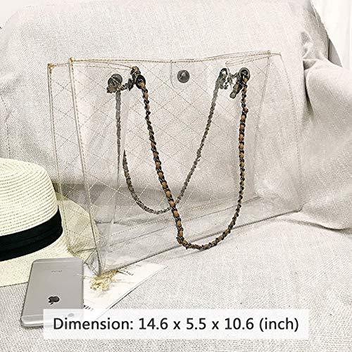 Bag HaloVa in Black 2 Bag Women's Purse 1 Shoulder Single Tote Handbag qrgErR