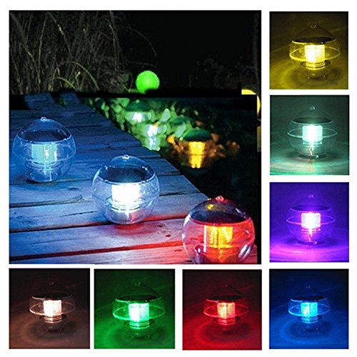 Floating Ball Solar Light