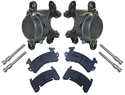 1 Piston Front Caliper - NEW D154 BRAKE CALIPER & PAD SET WITH PINS, FRONT, 1 PISTON, 1.04