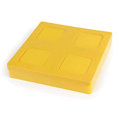 Camco Durable Leveling Block Caps - Securely Fits on Top of Your Leveling Blocks to Create An Even Surface Without Increasing Stack Height - 4 Pack (44500): Automotive [5Bkhe1011554]
