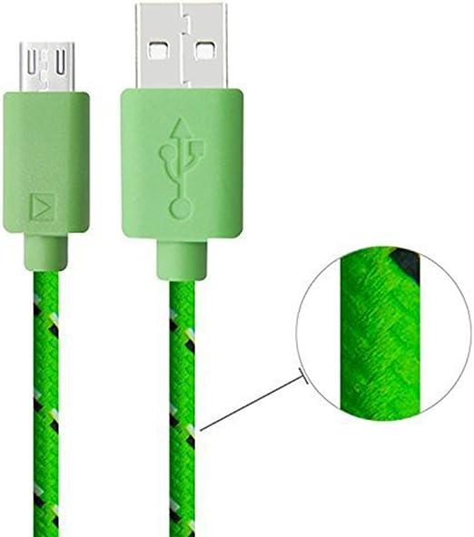 Hosaire Teléfono móvil Micro 1 m de Cable de Carga USB Cable USB A ...