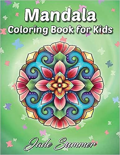 Amazon Com Mandala Coloring Book A Kids Coloring Book With Fun