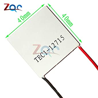 TEC1-12715 Heatsink Thermoelectric Cooler Cooling Peltier Plate Module 12V//15A
