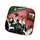 Home of Jack Russell 4 Dogs Playing Poker Pot Holder