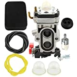 Harbot Carburetor with Air Filter Tune Up Kit for Husqvarna 150BT 350BT 350BF Backpack Blower Replace 581177001 502845001
