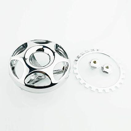 Amazon com: Motorcycle Round Horn Cover Chrome For Yamaha V