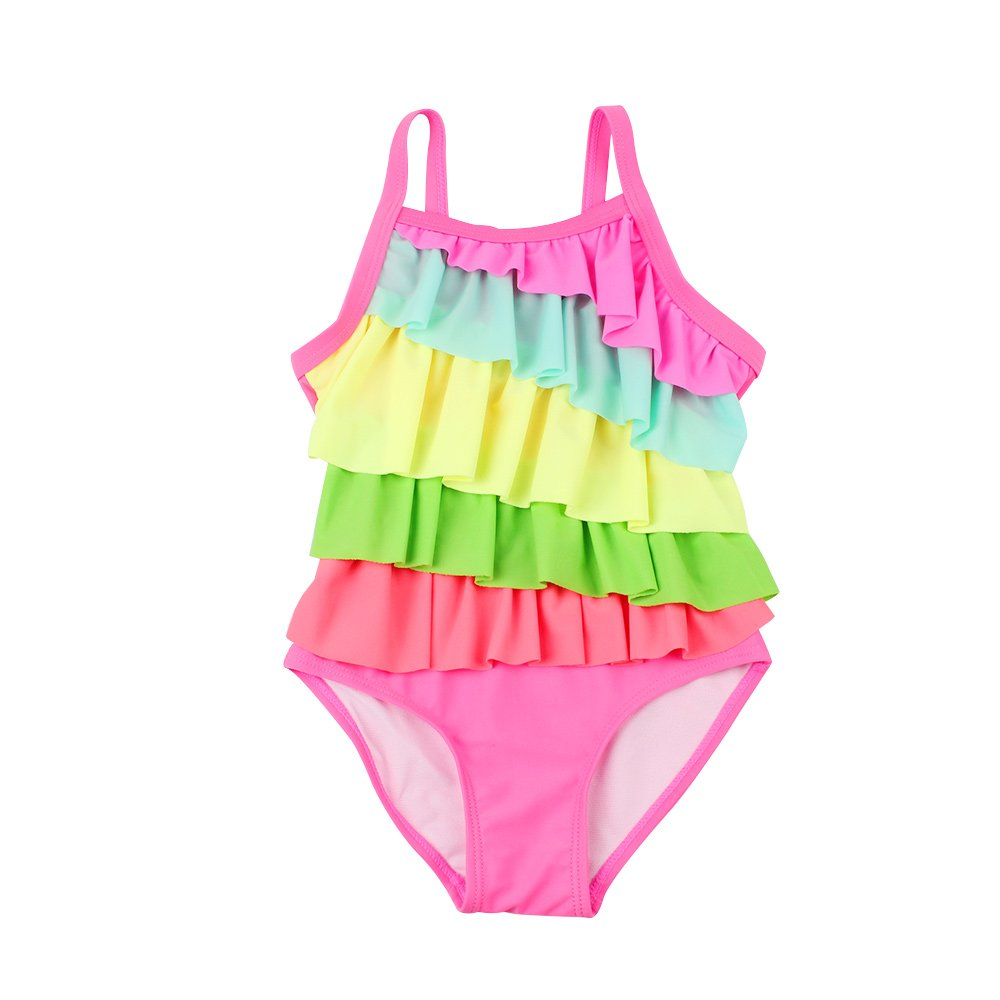 XIAOHAWANG Newborn Baby Girl One-Piece Swimsuit