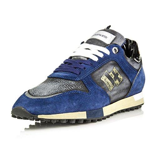 Dacquasparta Herren Sneaker Royal / Nero / Grijs