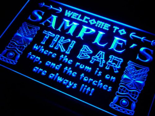 pm1564-b Christian's Tiki Bar Mask Beer Neon Light Sign