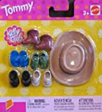 Barbie Kelly Club TOMMY DOLL Shoes, Boots & Cowboy Hat (2002)