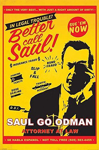 Better Call Saul - TV Show Poster / Print (Saul Goodman - Attorney At Law) (Size: 24