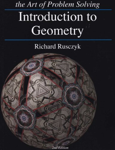 Art of Problem Solving Introduction to Geometry Textbook and Solutions Manual 2-Book ()