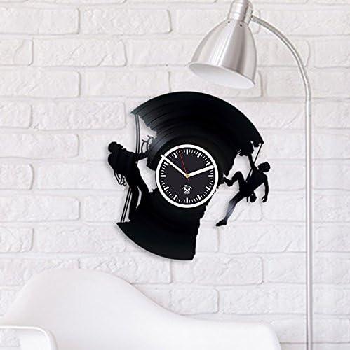 Kovides Climbing Vinyl Wall Clock