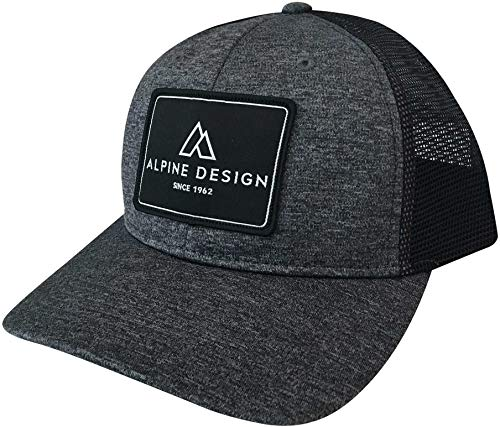 - Alpine Design Men's Trucker Hat (Heather Grey/OneSize)