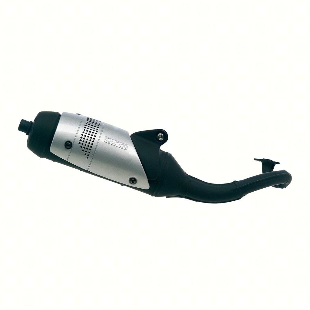 Vergaser Pot d/échappement LeoVince Touring 5513 pour Elystar 50 G1A Speedfight 1 50 S1B Speedfight 1 50 S1B AC Squab 50 S1A LC
