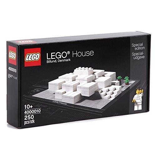 Overseas Limited Lego 4000010 Dinamarca Billund LEGO Lego House arquitectura Regohausu 250 piezas lego [productos de importación paralelos]