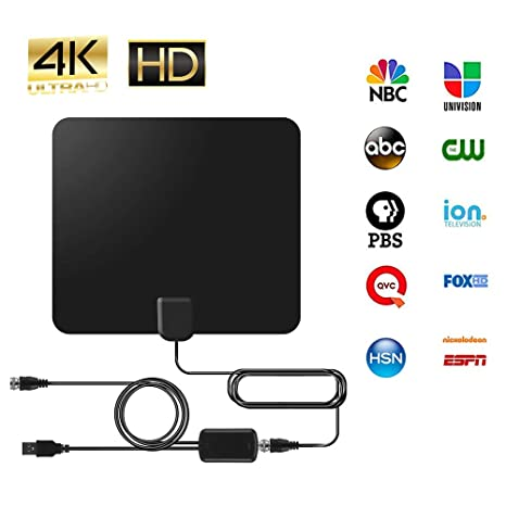 Best Indoor Hd Antenna 2020 Amazon.com: Digital HDTV Antenna (2020 Early Release), 50 to 80