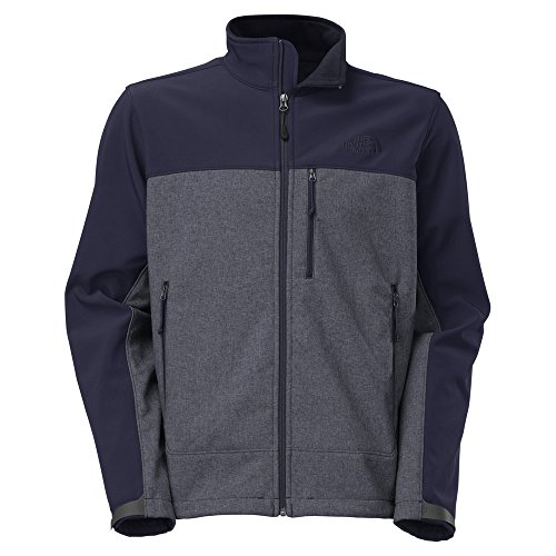 The North Face 611C757 Apex Bionic Jacket for Men, Cosmic Blue Heather & Cosmic Blue - Extra Large by The North Face