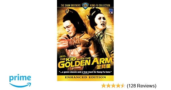 the kid with the golden arms kung fu