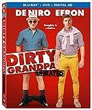 Dirty Grandpa (Unrated) [Blu-ray + DVD + Digital HD]