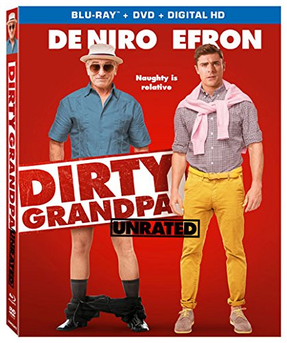 Blu-ray : Dirty Grandpa (With Blu-Ray, Ultraviolet Digital Copy, Widescreen, 2 Pack, Dolby)