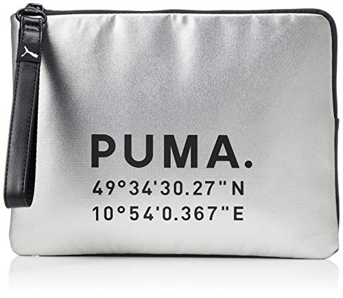Puma Women #39;s Clutch  Silver Black
