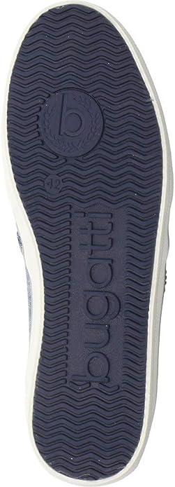 321502666900-4100 Dark Blue Bugatti Men Slipper Blue,