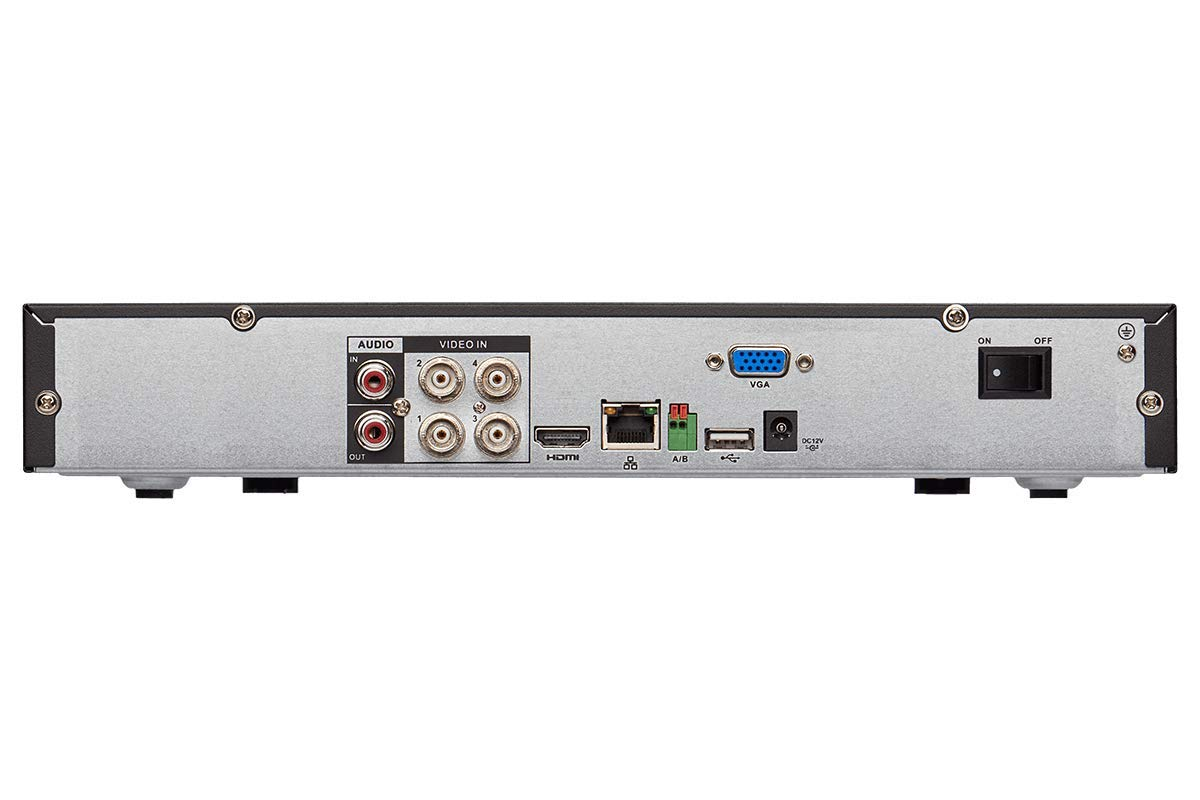 Lorex 1080p LHV2000 Series True High Definition 1080p Security Digital Video Recorder - Manufacturer Refurbished (4 Channel, 1TB) by Unknown