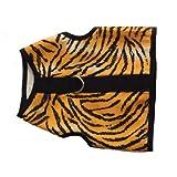 Kitty Holster Arnés para Gato, tamaño Mediano, Grande, Rayas de Tigre