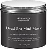 Best Clay Masks for Blackheads Dead Sea Mud Mask for Face & Body - 100% Natural Spa Quality - Best Pore Reducer & Minimizer to Help Treat Acne , Blackheads & Oily Skin  Tightens Skin for a Visibly Healthier Complexion  8.8 OZ