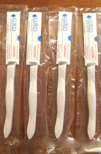 Cutco Set Of 4 Steak Table Knives 1759 Pearl White