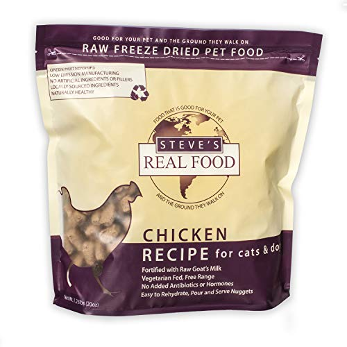 Steve's Real Food Freeze-Dried Raw Nuggets 1.25# (Chicken)