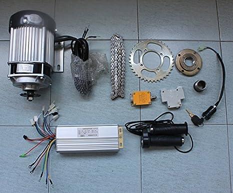 Amazon.com: 48 V motor de 750 W Brushless Motor eléctrico ...