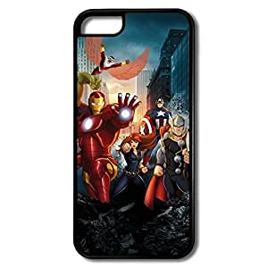 Nerd Marvels Avengers IPhone 5c PC Cases Snow Proof by runtopwell