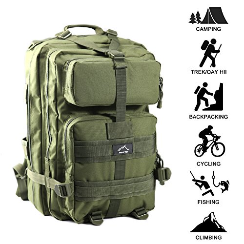 Review Hetto Military Tactical Backpack
