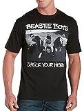 Beastie Boys Check Your Head Big & Tall Short Sleeve Graphic T-Shirt (4XL, Black)