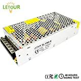 LETOUR DC 5V 30A Power Supply 150W AC 110V/220V