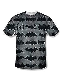 Batman 75th Anniversary - Men's T-shirt Bat Symbols