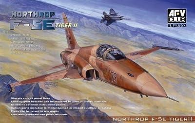 Northrop F5E Tiger II USAF Aircraft 1-48 AFV Club