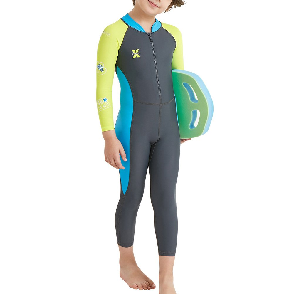 Yiding Boys Girls Wetsuit UV Protection For Diving Swimming mn-lfb-20180227-139