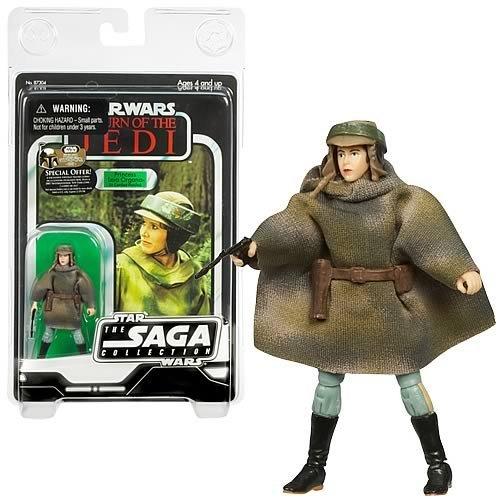 Star Wars 2007 Vintage Princess Leia (Endor) Action Figure -