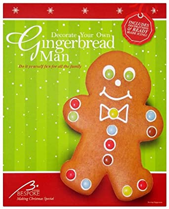 fd6f24080809 Bespoke Foods Decorate Your Own Gingerbread Man Kit 180 g