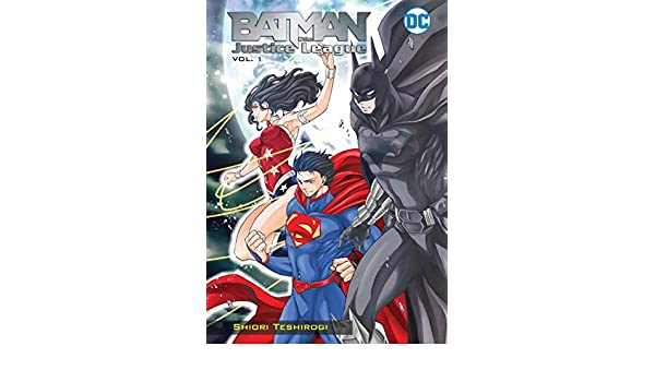 Batman and the Justice League Manga Vol. 1 (English Edition ...