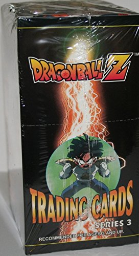 1999 Dragonball Z Series 3 Trading Cards Box by Artbox. 24 Packs per Box. A Special Bonus Prism Card Inside Every (Dragon Ball Z Trading Card)
