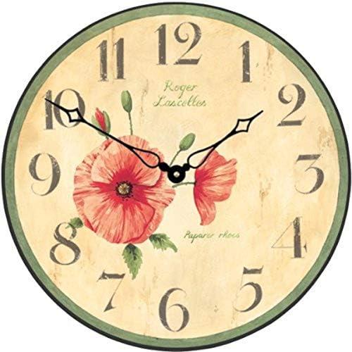 Cussing Cups Roger Lascelles D Poppy Wall Clock