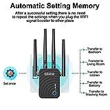 1200Mbps WiFi Range Extender, US754 Signal
